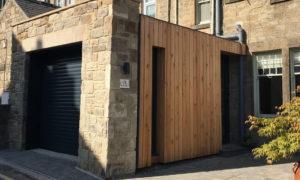 Monks Terrace Garage Log Store Extension