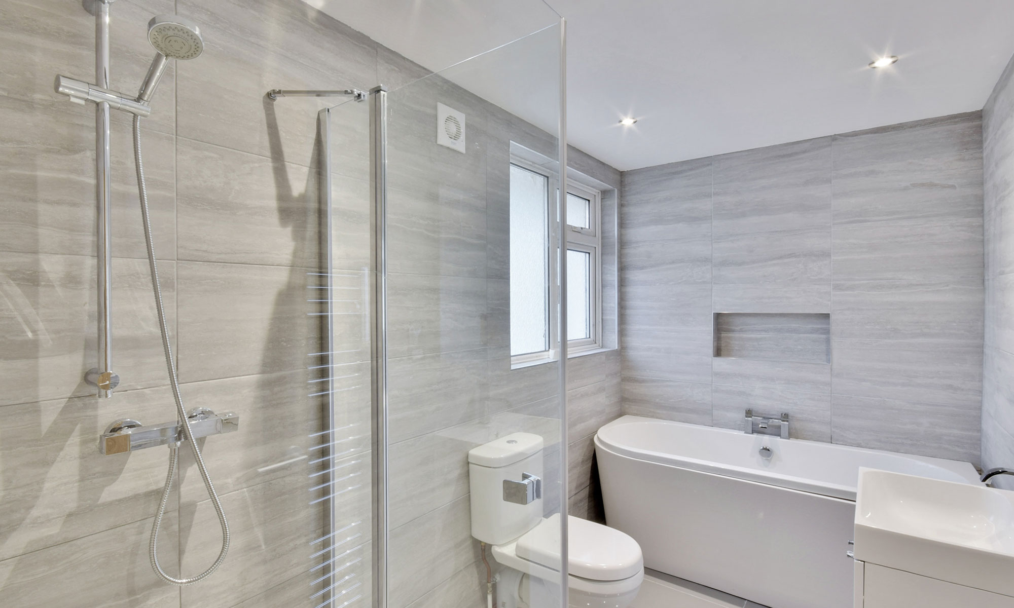 OAKWOOD BUNGALOW EXTENSION BATHROOM