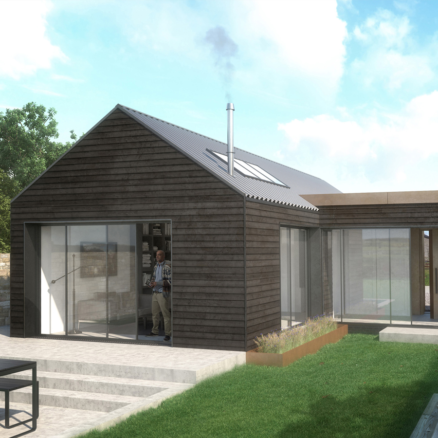 Planning Approval Charred Barn