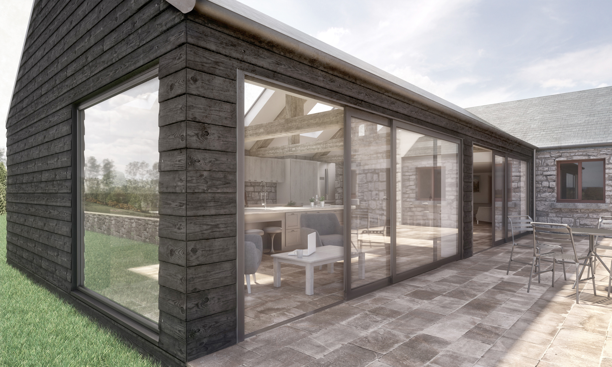 GS Bingfield Comb Barn Extension