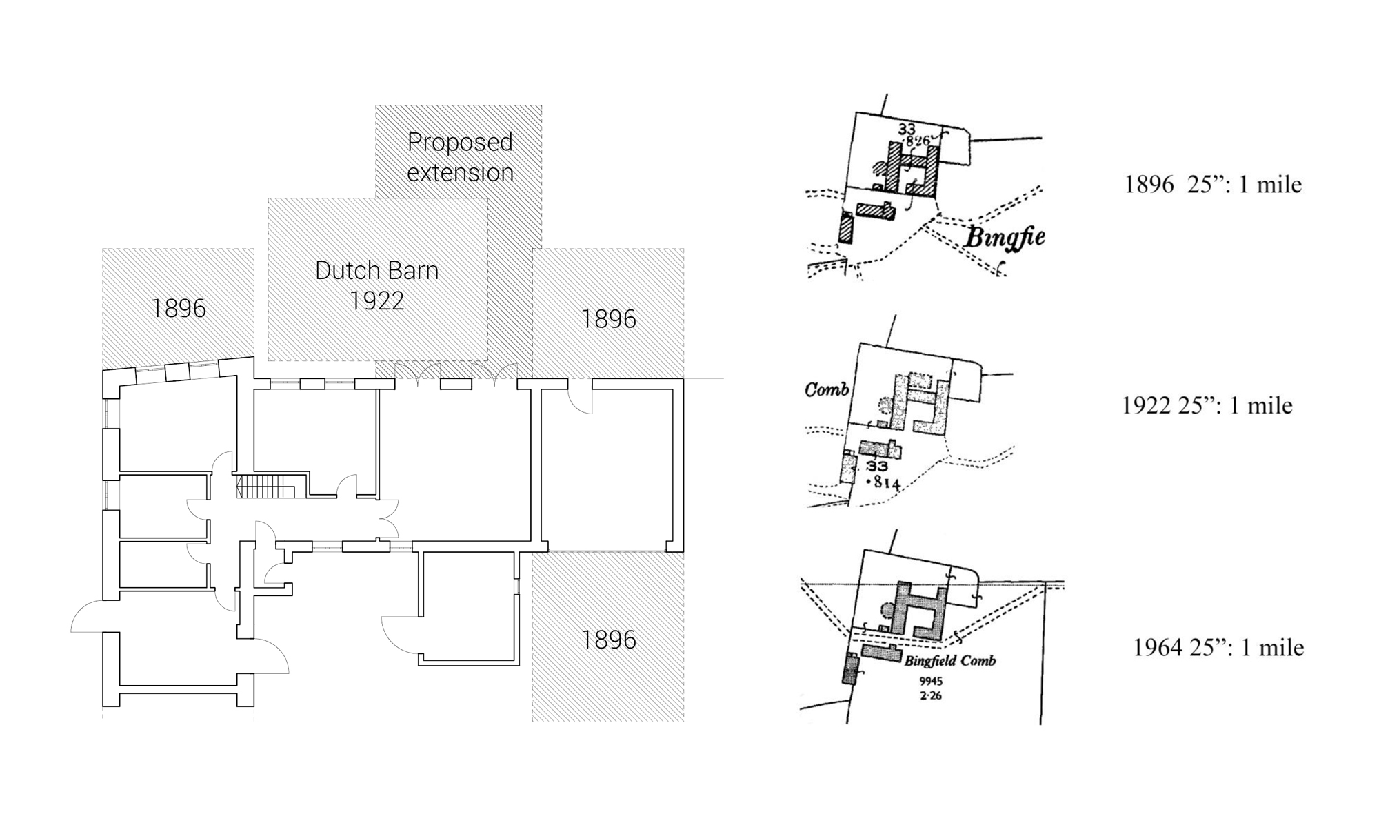 Barn Extension Historical Plan