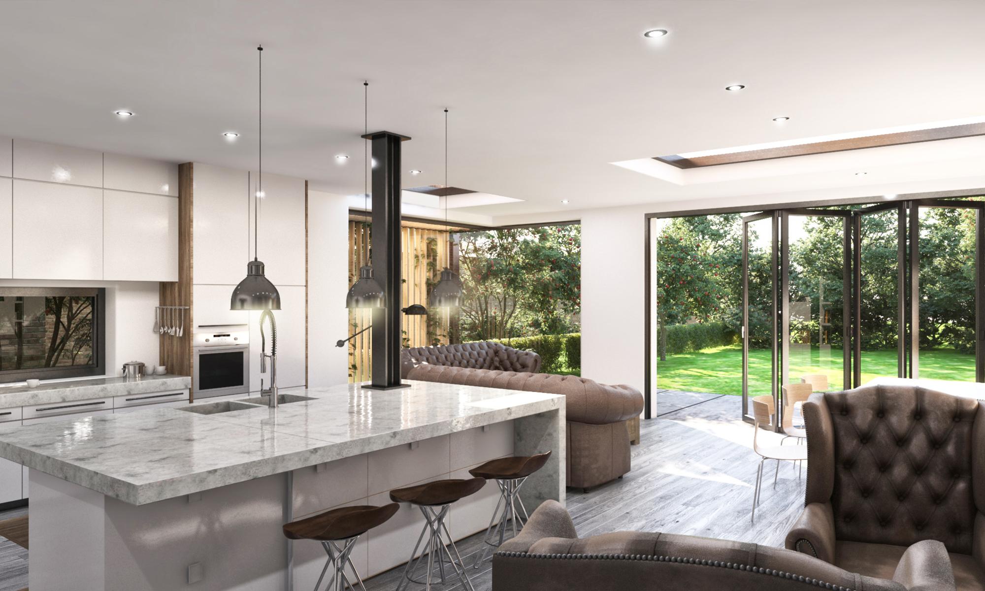 Thorpe Lea Road Interior Design