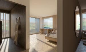 Quartet Master Bedroom Interior Render