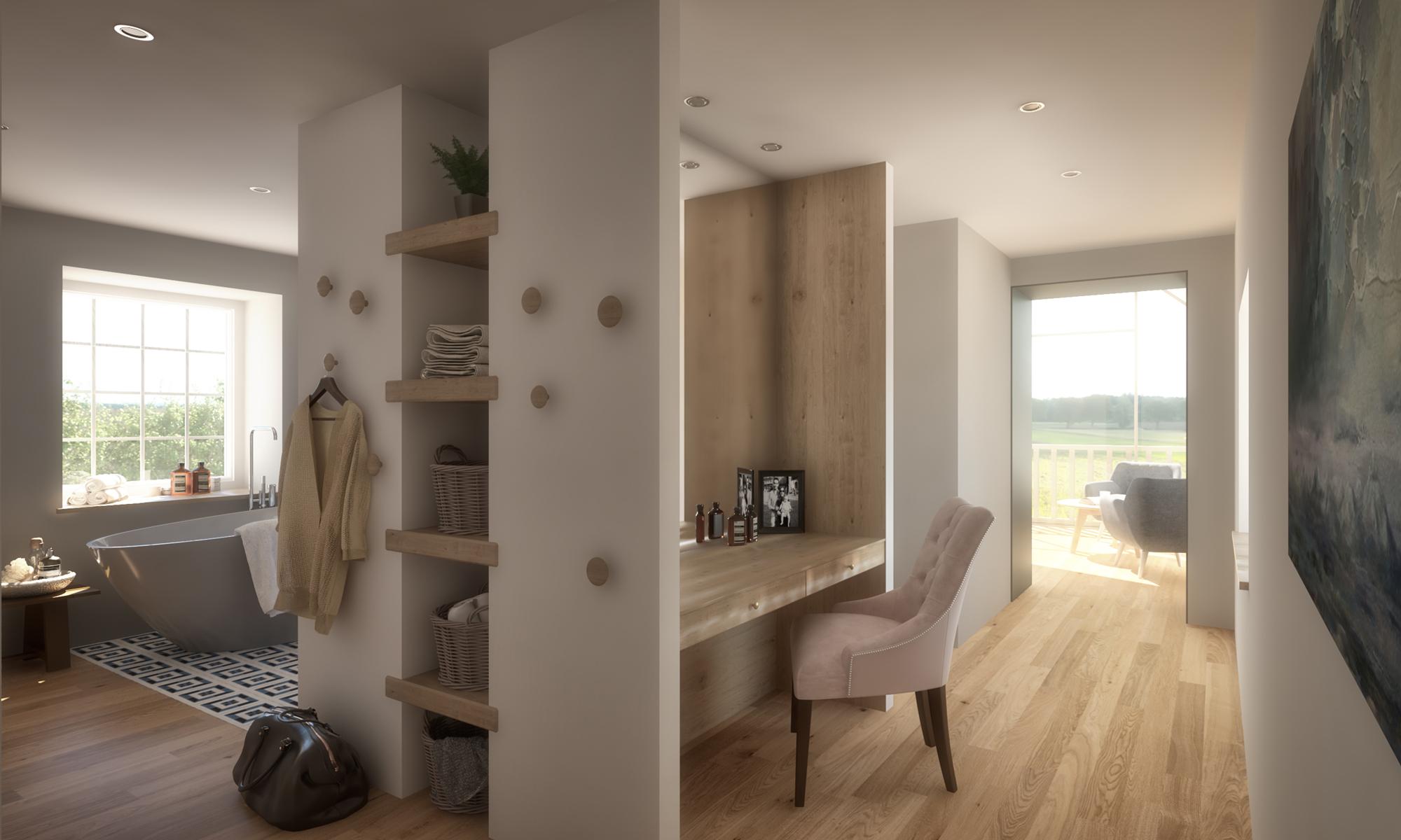 Heatherden House Extension Interior Design
