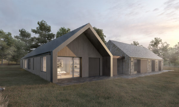 Hopedene House New Build eco House