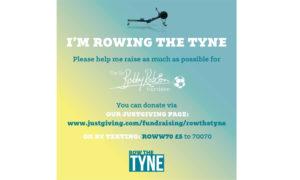 im rowing the tyne