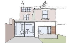 Extension Project Jesmond Newcastle