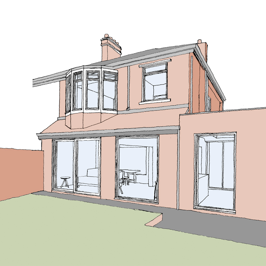 Extension Tynemouth Planning Submission
