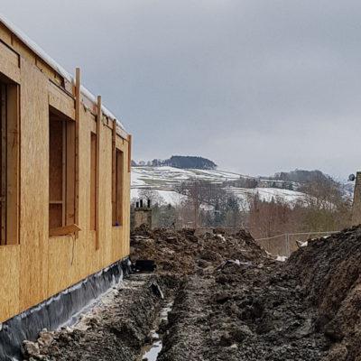 Hopedene House New Build Project On Site Progress