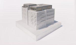 Docklands Penthouse Model Render