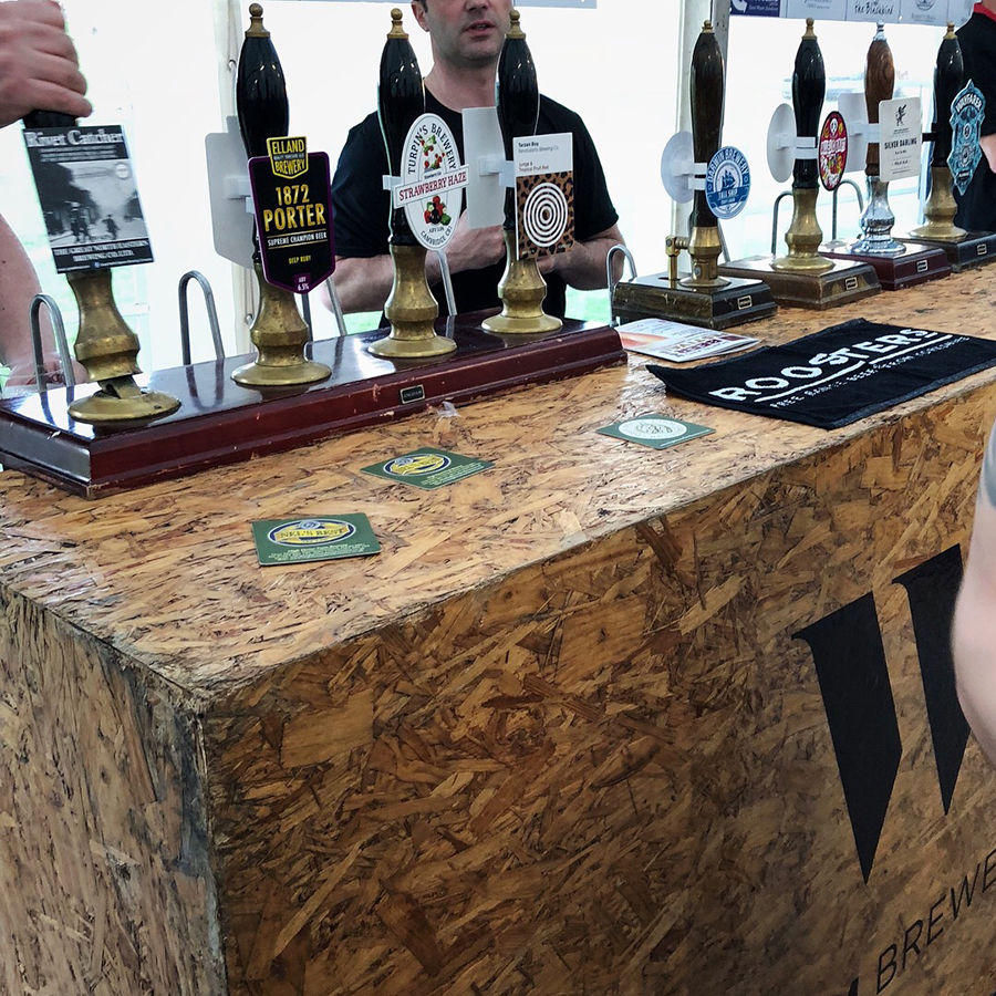 Ponteland beer festival 2018