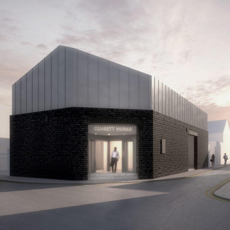 Consett Works Commercial Build Durham