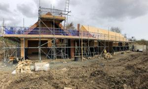 New build progress picture
