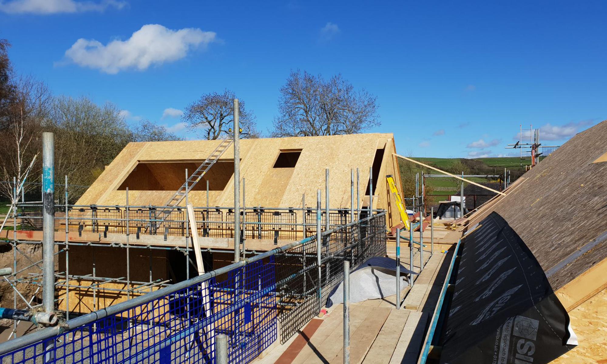 New Build Sips Building Progress