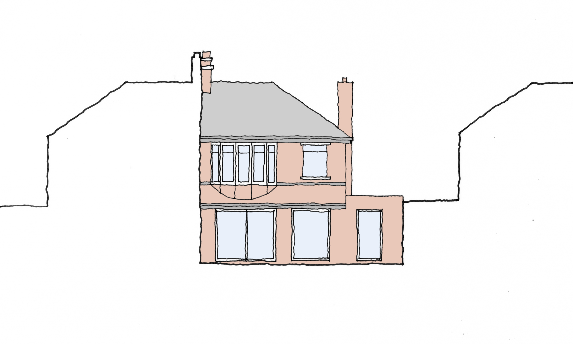 Tynemouth Extension Sketch