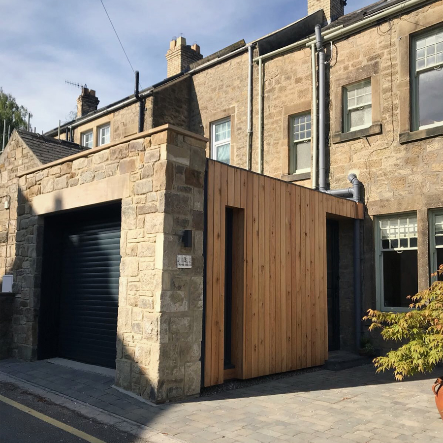 Garage Extension Complete Monks Terrace Great Space Architects