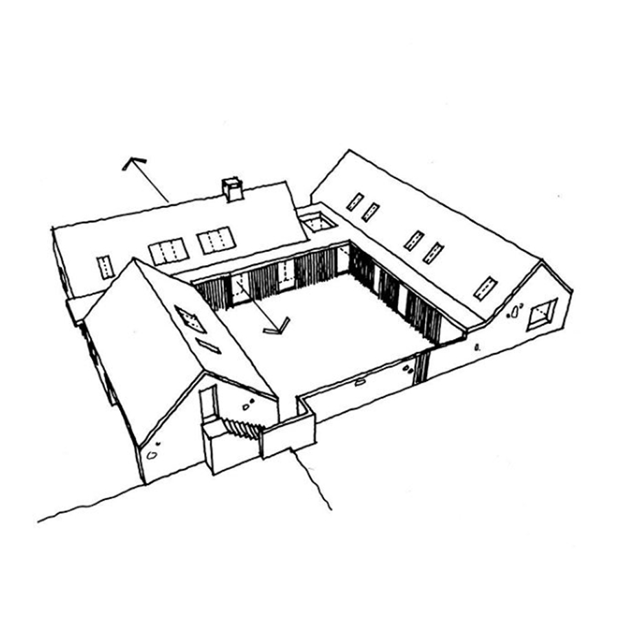 HOPEDENE HOUSE SKETCH 2