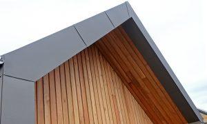 Zinc Roof Detail