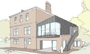 River House Extension Concept Sketch