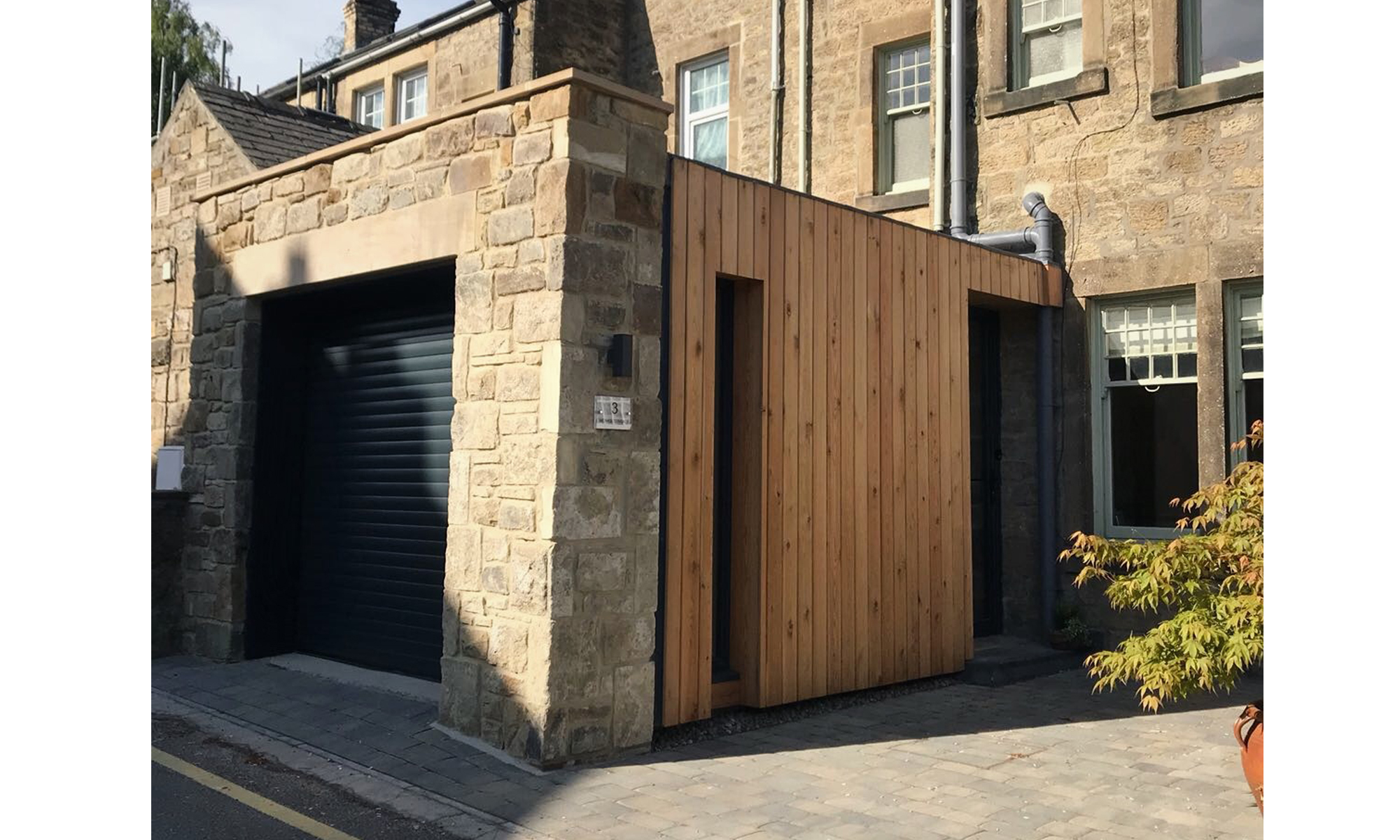 MONKS TERRACE LOBBY EXTENSION COMPLETE NORTHUMBERLAND