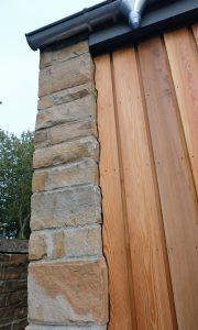 Wood Cladding Stone