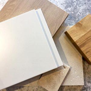 kitchen material palette
