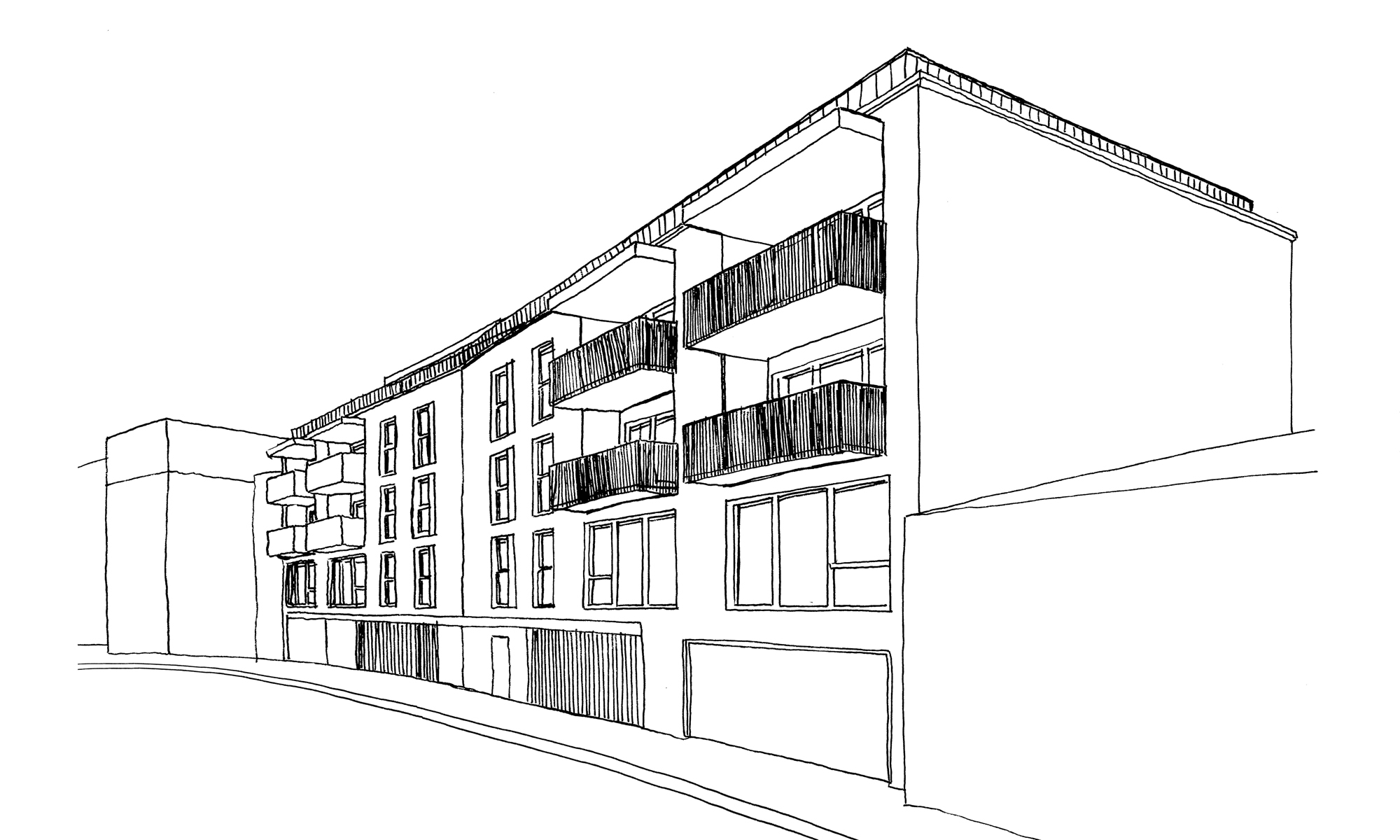 The Ropeworks Apartments Aparthotels Sketch