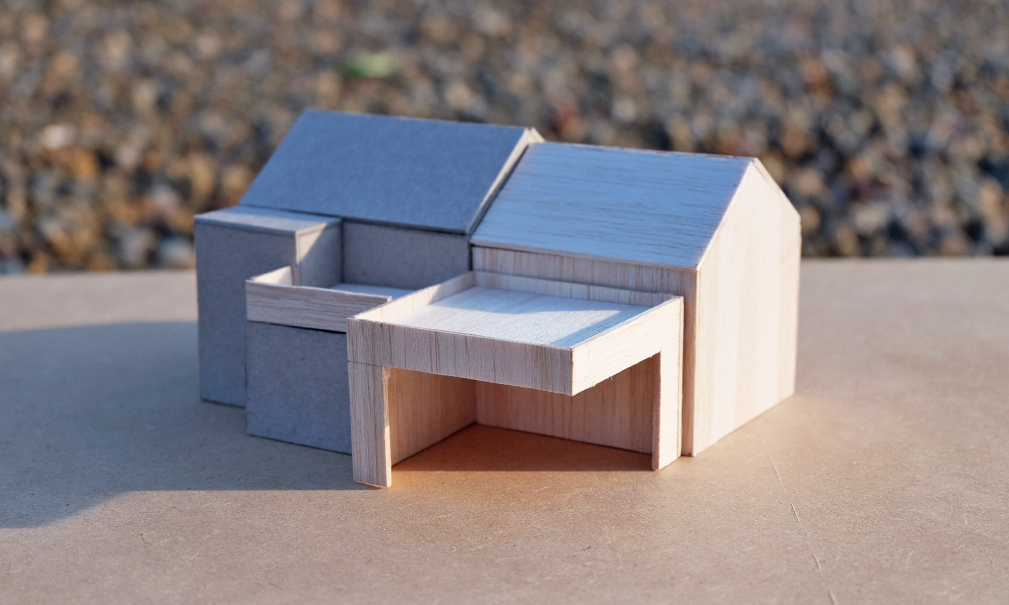 WEST COTTAGE EXTENSION MODEL