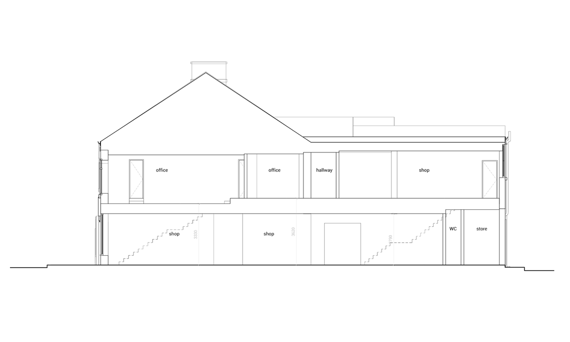 VICUS EXISTING ELEVATION
