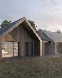 Quartet Ecohouse Northumberland