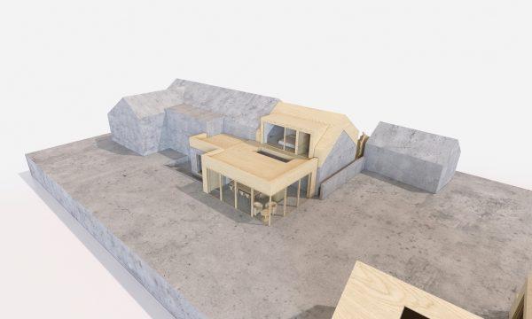 west cottage 3d concept