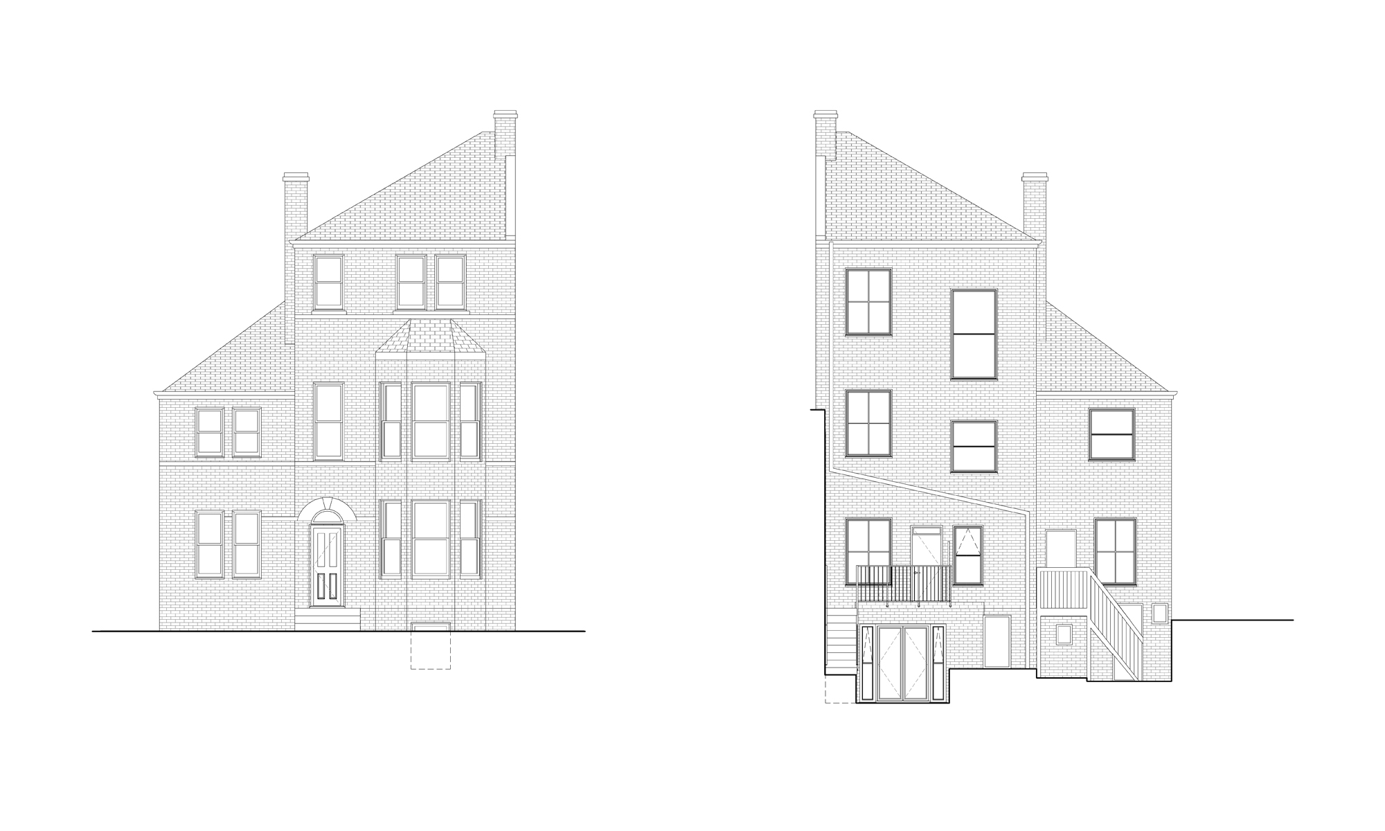proposed elevations extension London