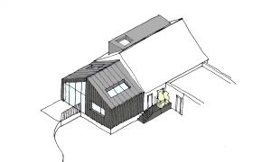 Glenfield Extension Sketch