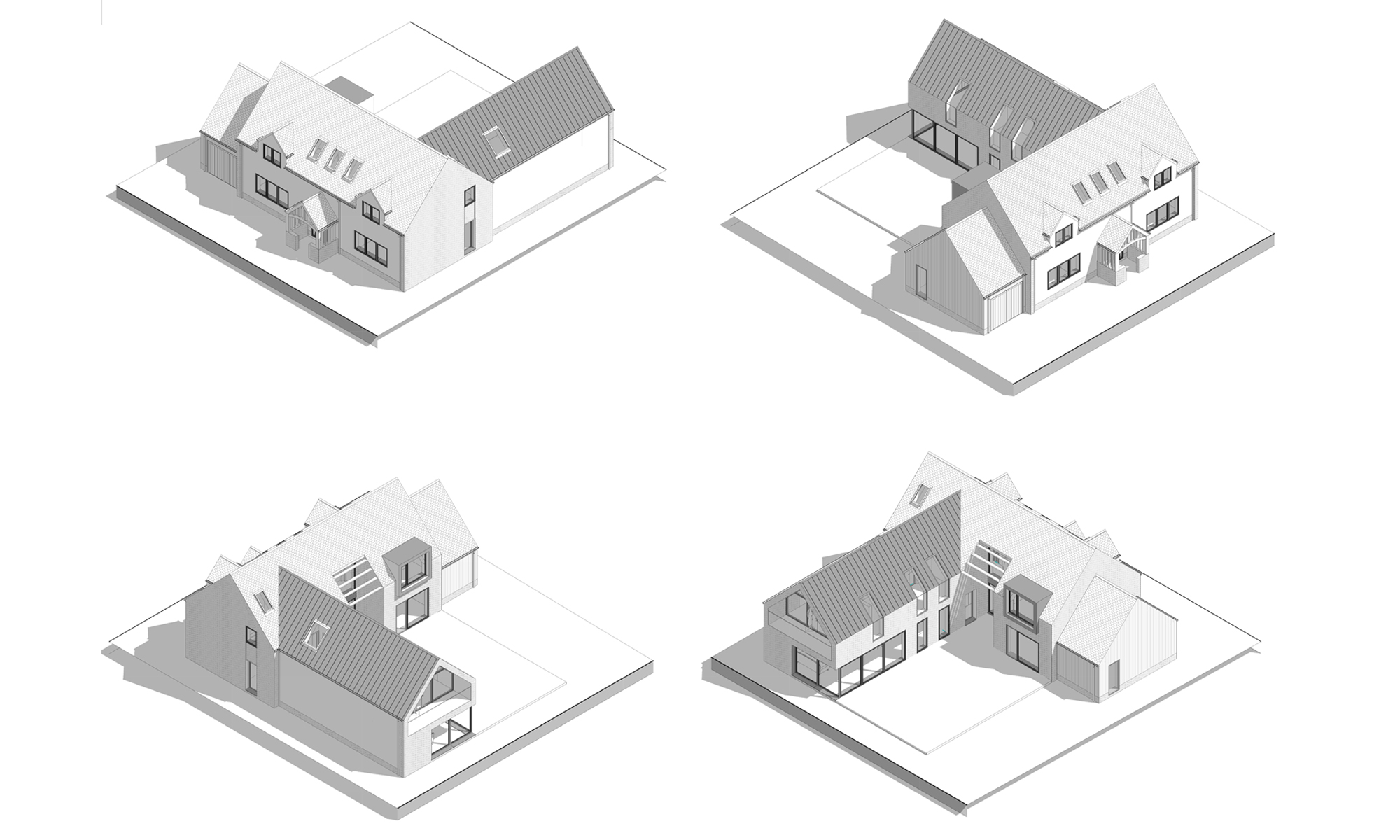 The Dual House 3D imagery