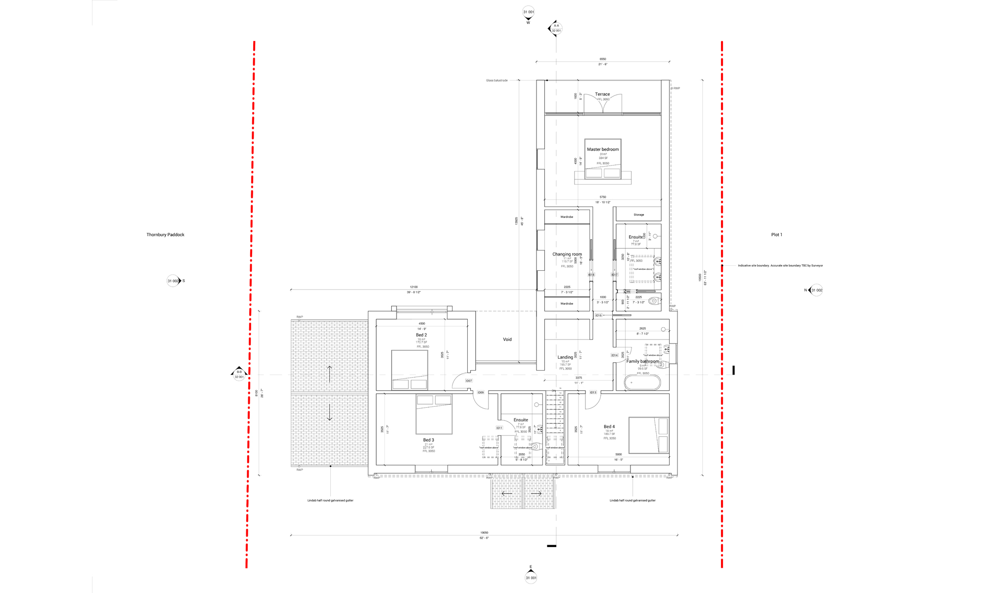 The Dual House First Floor pLans