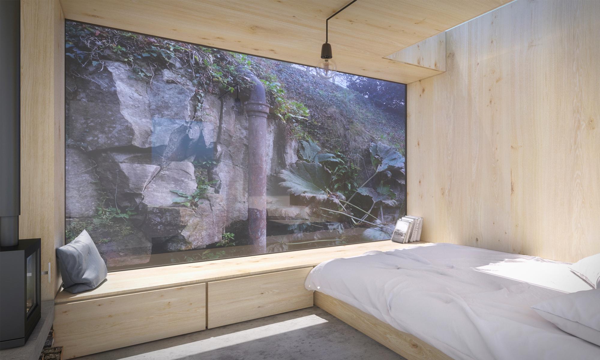Old mill Pod Bedroom