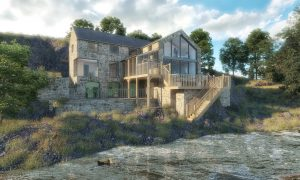 The Old Mill Render 1