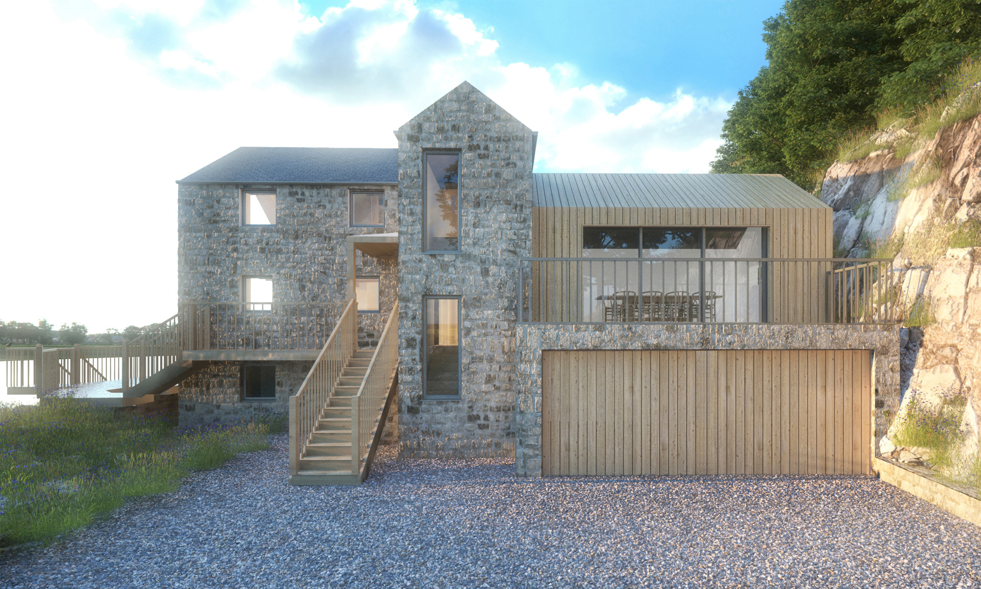 The Old Mill Render 2