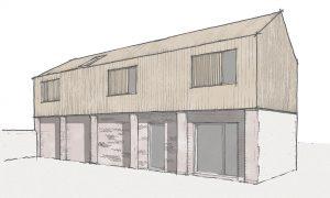 Pantile Barn Annex SketchSpringfield Barn Annex Sketch