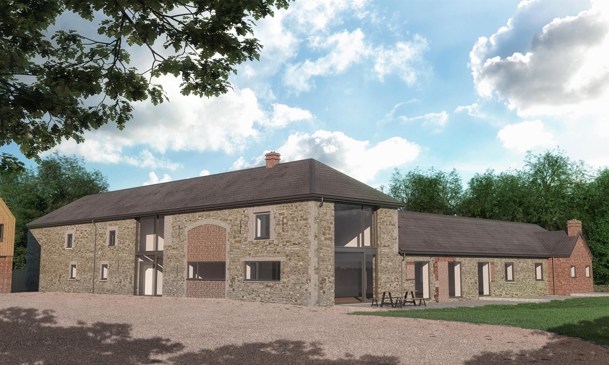 Pantile Barn External