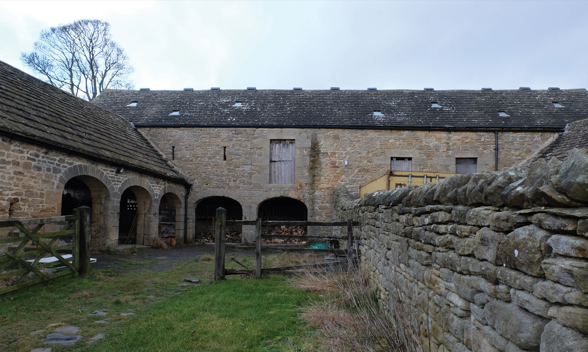 Grade II Barn Conversion site photo