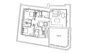Docklands Penthouse Internal Layout