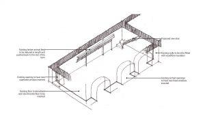 Grade II Barn Conversion Living Room Layout