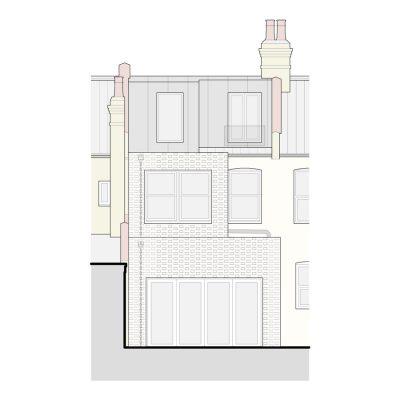 Terrace House Extension London