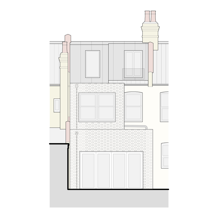 Terrace House Extension London