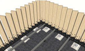 timber fin balustrade detail 1