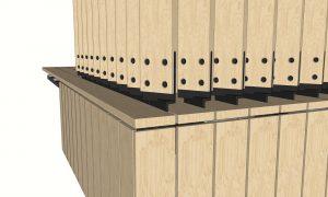 timber fin balustrade detail 3
