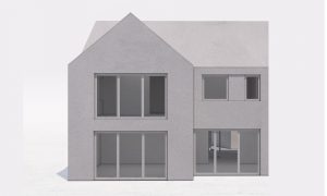Stepped house Planning Permission