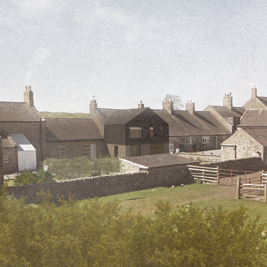 Two-storey Cottage Extension in Northumberland