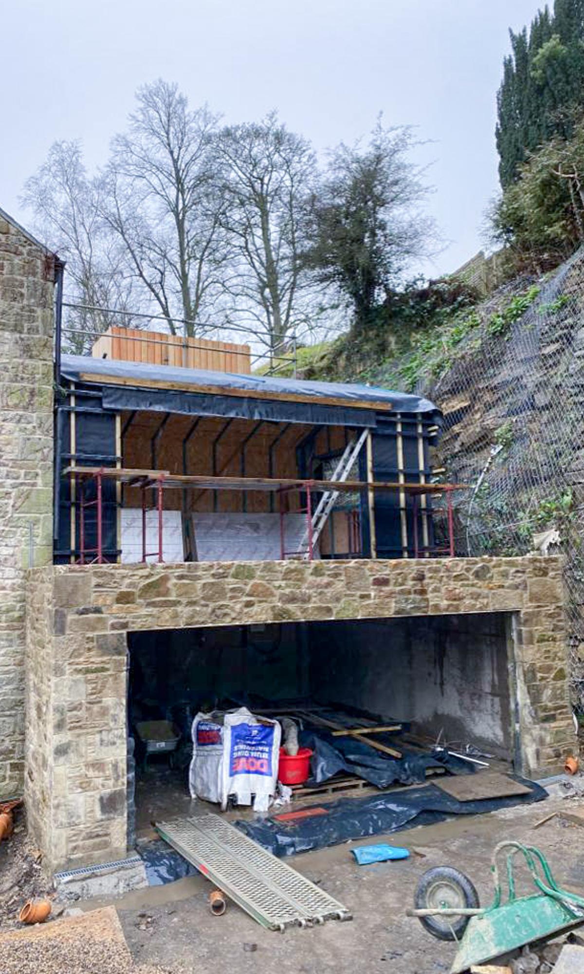 Old Mill Progress Photo 3